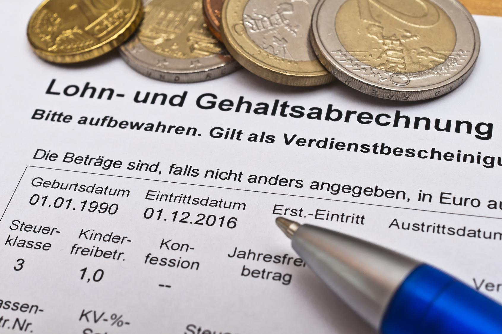 Lohn- und Gehaltsabrechnungen